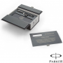 Parker Duofold Black and Platinum Roller Ball Pen Gift Box