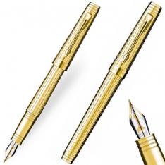 Parker Premier Deluxe Gold Tartan Fountain Pen