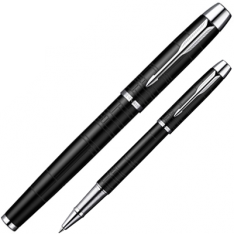 Parker IM Premium Matte Black Rollerball Pen