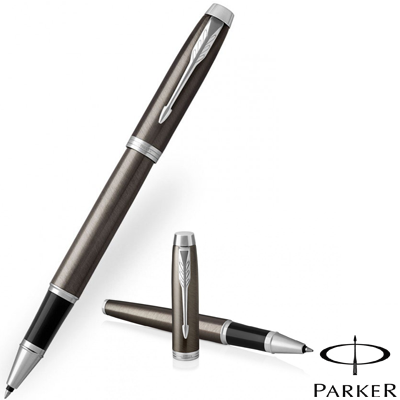 Parker IM Dark Espresso Chrome Trim Rollerball Pen