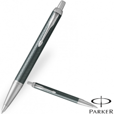 Parker IM Premium Pale Green Chrome Trim Ballpoint Pen new
